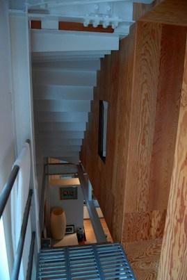 軽量鉄骨のロフトハウス2階2